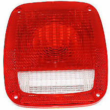 Jeep CJ YJ TJ Wrangler Tail Light Lamp Lens  1976-2006  Omix-Ada 12404.01