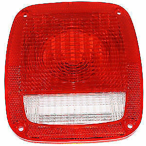 Tail Light Lamp Lens for Jeep CJ YJ TJ Wrangler  1976-2006  Omix-Ada 12404.01