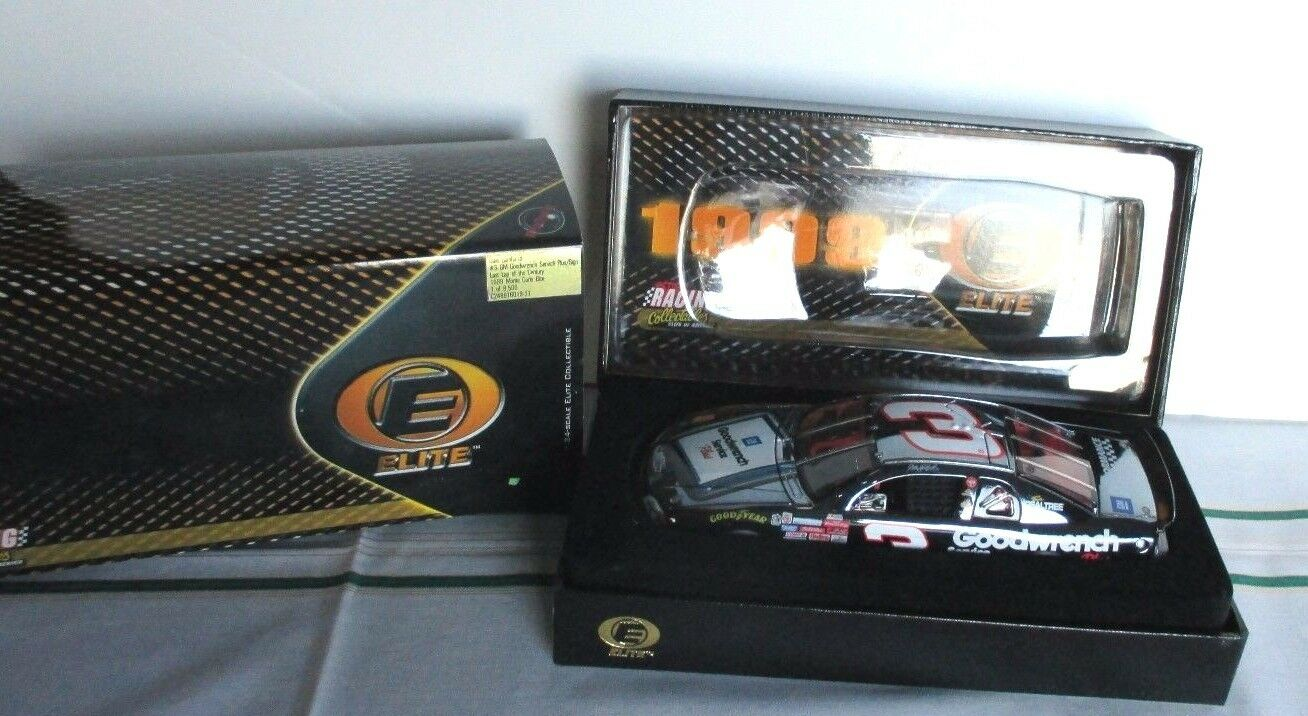 Action ELITE~1999 Monte Carlo Elite DALE EARNHARDT  3 GM Goodwrench~LAST LAP