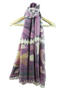 New Design Numbers Printed Scarf For Ladies Women Very Soft Quality Sarong Ungleiche Leistung Kleidung & Accessoires