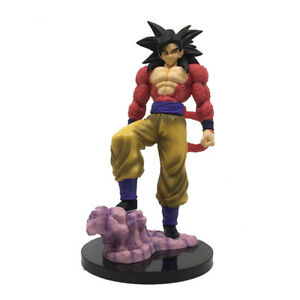 Figurine Goku Super Saiyan 4ème Niveau 28 Cm Nouvelle Boutique Italienne !!!