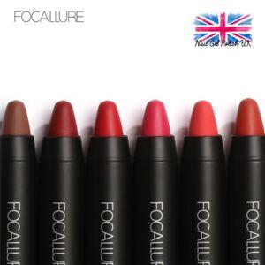 Focallure-Rouge-a-Levres-Crayon-pour-Mate-Effet-Impermeable-Longue-Duree-de-Luxe