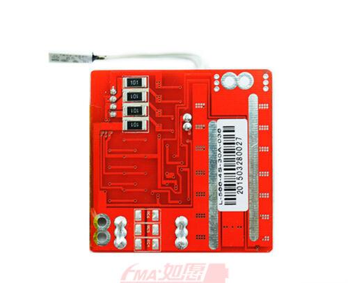 2x Balance BMS PCM for 4S 14.8V Li-ion Li-Po Battery C:30A w//Temp Switch SM566
