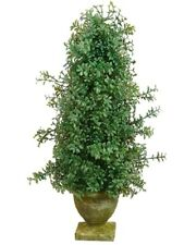 """English Gardens 30/"""" Boxwood Cone Topiary with 6/"""" Stake"""