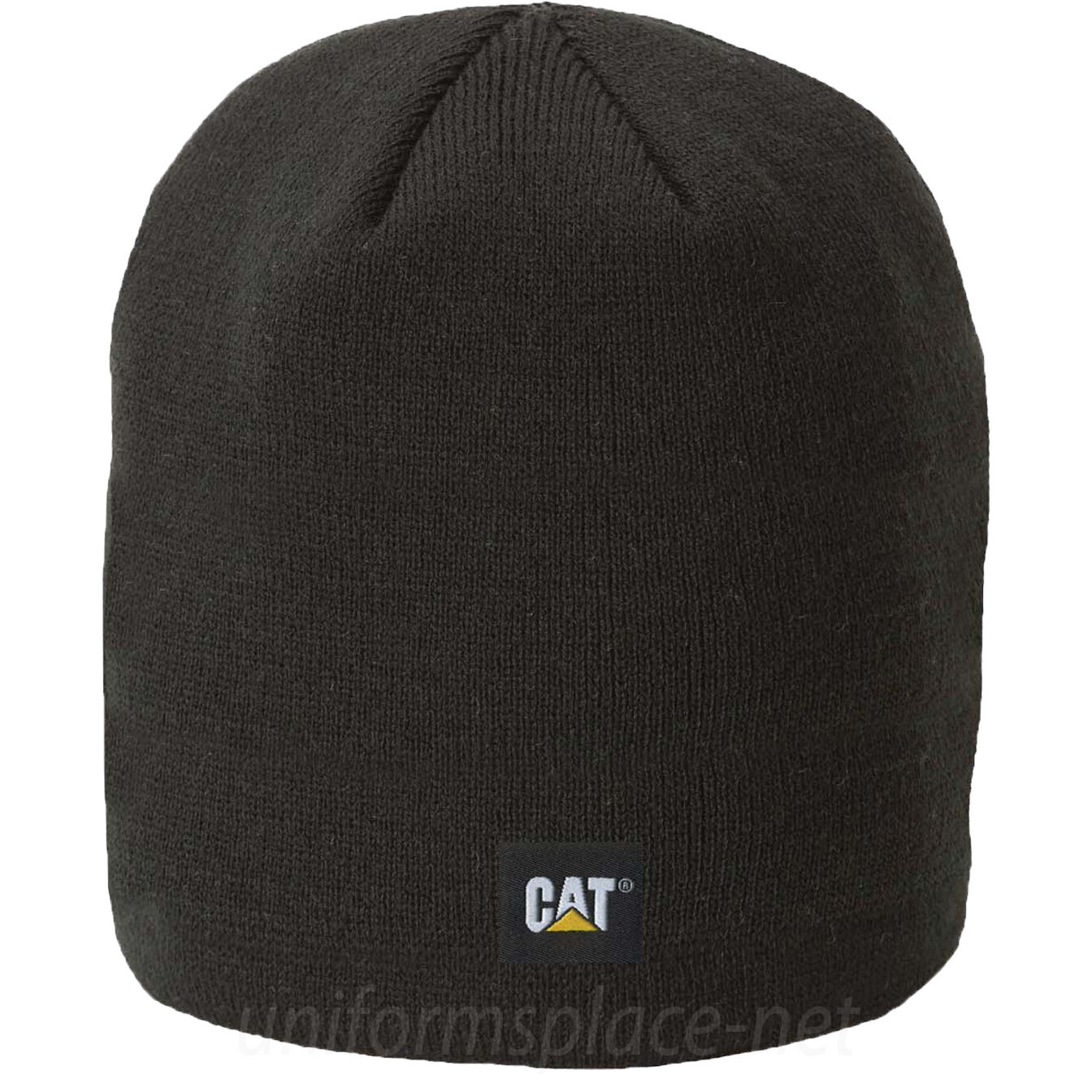 CATERPILLAR CAT 1128043 Branded grey or black knitted beanie cap