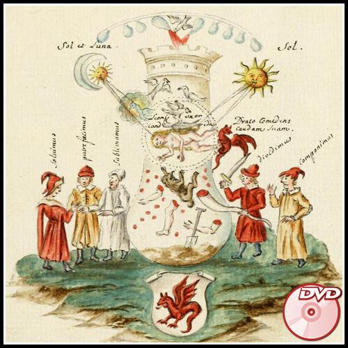 SPLENDOR SOLIS Manuscripts 16-18 century ALCHEMY 2 DVD/'s 9000 pages color
