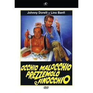Occhio-Malocchio-Prezzemolo-e-Finocchio-DVD-Nuovo-Lino-Banfi-Johnny-Dorelli