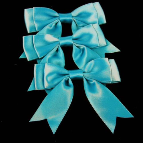 """approx 3-4/"""" wide Beautiful Satin Large Double Bows Ribbon Bows With Tails"""