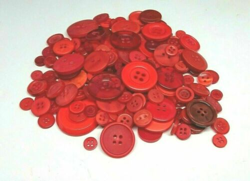 95g Pack 200 Buy 3 GET 1 FREE Assorted Buttons Mixed Sewing Craft 8 Colours