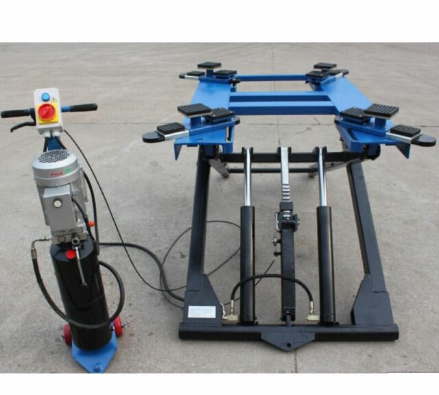Portable Hydraulic Scissor Auto Lift Car Elevator for Weight 5 900 Lbs Shop