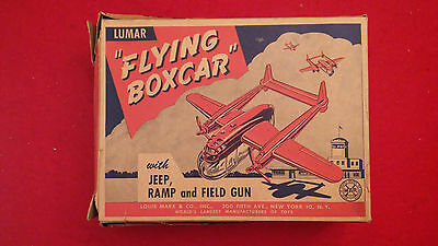 """MARX - LUMAR """"Flying Boxcar"""" - EXTREMELY RARE - Hard to find"""