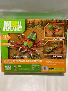 Animal Planet Building Blocks 3 IN 1 TROPICAL CREATURES 218  PCS.