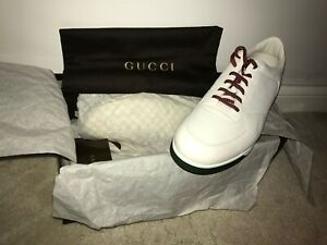 gucci 1984 leather anniversary sneakers