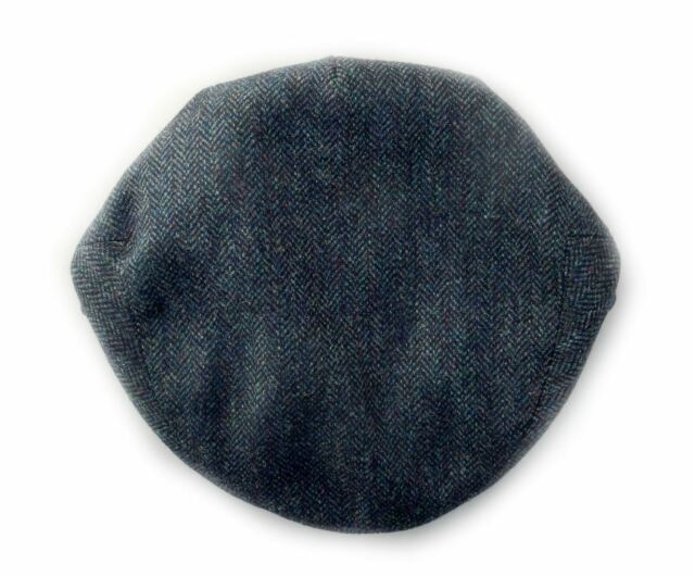 Buy Yorkshire Hand Tailored Wool Tweed Flat Cap Ribble Blue ... ee9671aa15c