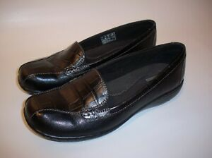 Clarks Collection Black Leather