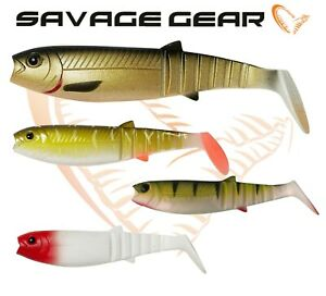 Savage-Gear-Cannibal-Shad-6-034-15cm-pack-Soft-Plastic-Bait-Fishing-Jig-Lure