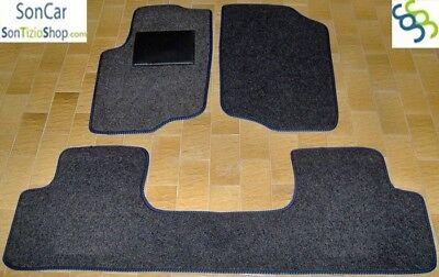 PEUGEOT 207 TAPPETI tappetini AUTO su MISURA 4 block
