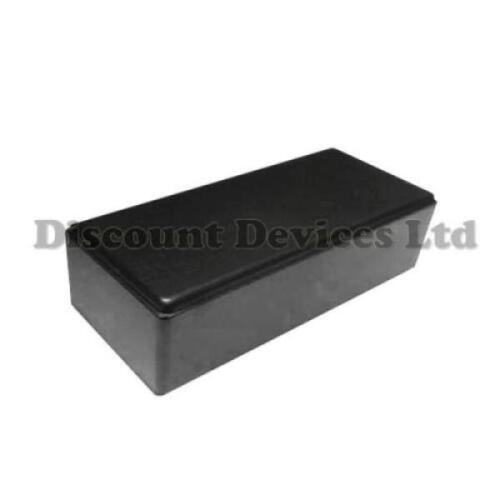 78x40x21mm custodia in plastica nera Scatola piccoli progetti//per circuiti elettronici