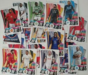 2020-21-Match-Attax-UEFA-Soccer-Cards-Cards-of-your-Choice