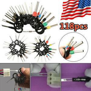 118Pcs-Car-Terminal-Removal-Tool-Kit-Wire-connector-Pin-Release-Extractor-Puller