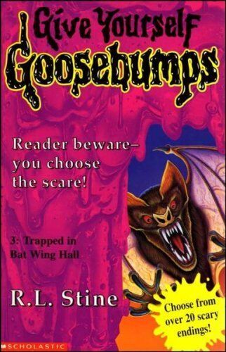 Trapped in Batwing Hall (Give Yourself Goosebumps) By  R. L. Stine