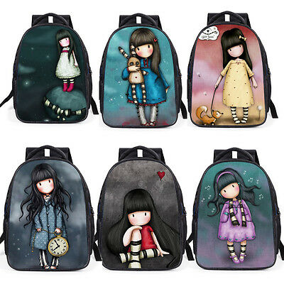 Women Backpack Mochila 3D Girls School Bookbag Children Teenager Stachel Bags