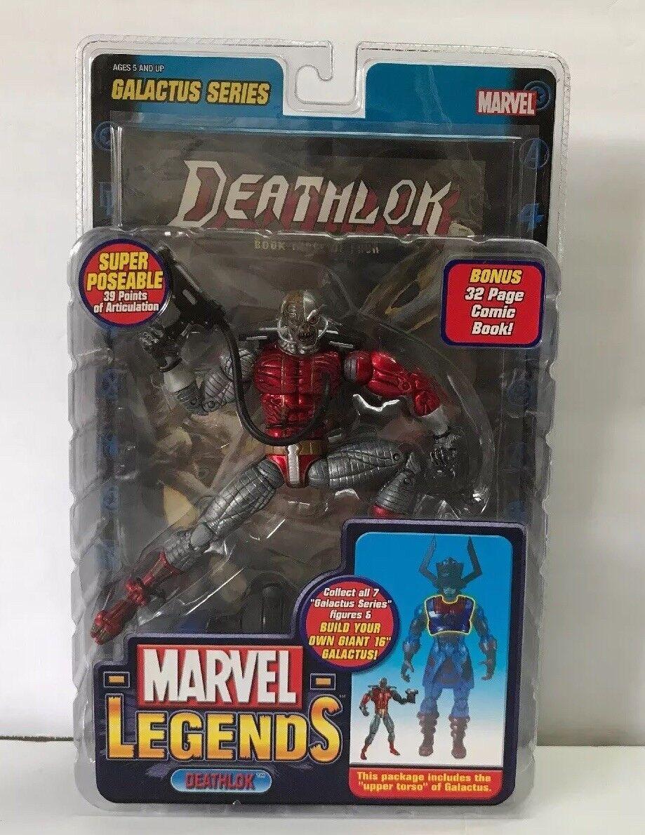 Marvel legends series 9 action - figur deathlok