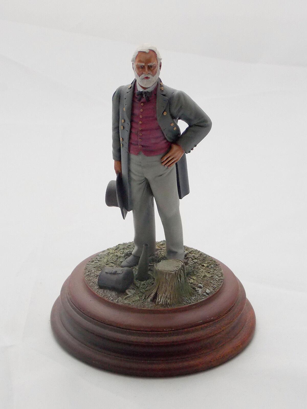 Figurine VERLINDEN Général Confédéré Robert Edward Lee Guerre Sécession Sudiste