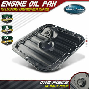 A-Premium Lower Engine Oil Pan Replacement for Lexus GS300 2006 GS350 2007-2011 IS250 2006-2012 IS350 2011-2012 AWD Only