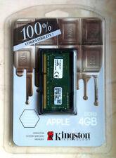 Kingston Apple Macbook iMAC RAM 4GB 1600MHz DDR3 1.35v PC3-12800 KTA-MB1600L/4G