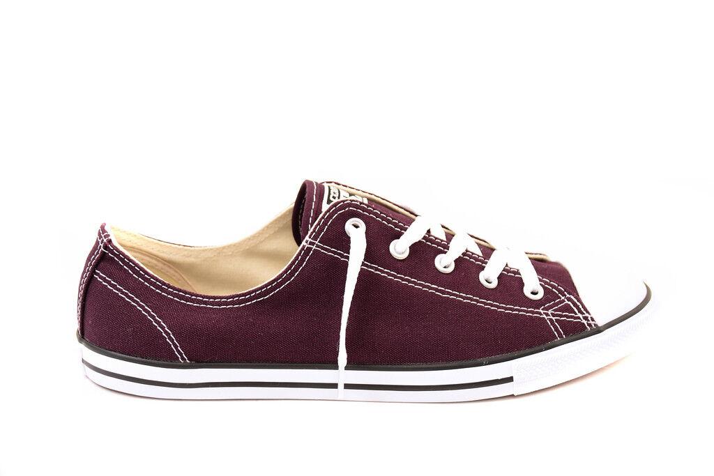 Converse Women CTAS Dainty Canvas Color OX 553371C Sneakers Purple RRP