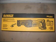 DEWALT DCS380B 20V Li-Ion Cordless Reciprocating Saw - Black/Yellow