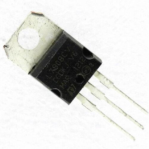 50Pcs 7808 L7808 L7808CV LM7808 8V Voltage Regulator TO-220 CK