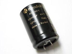 Condensatore Elettrolitico SNAP IN 10000uF 63V 105°C K05 KENDEIL
