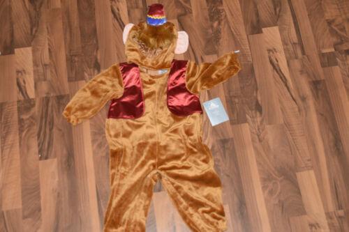 Original Disney Store Aladdin  Abu Kostüm Body und Hut Gr 92 18-24 Monate  #3947