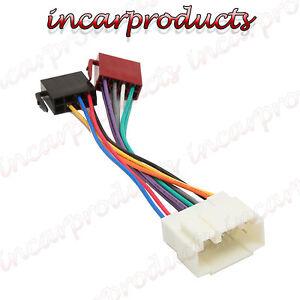 honda s2000 car stereo radio iso wiring harness adaptor loom hd 102 image is loading honda s2000 car stereo radio iso wiring harness