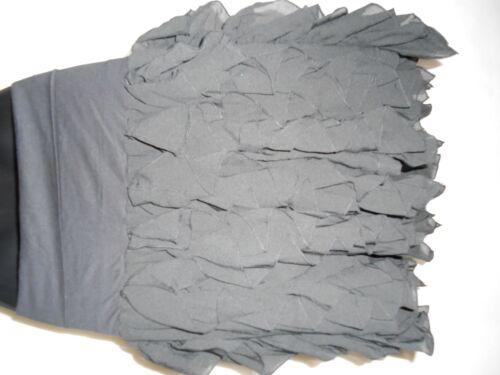 £99 Frill Rrp Skirt Black Dkny New 0wqfXx