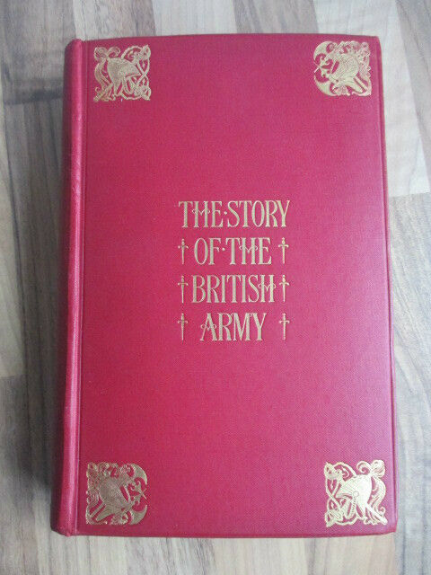 1897 1st~STORY OF THE BRITISH ARMY~COOPER KING~MILITARY HISTORY~WAR~PLANS~ILLS