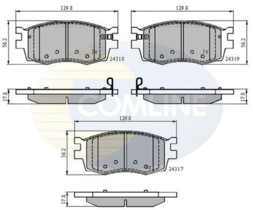 COMLINE FRONT BRAKE PADS SET BRAKING PADS OE REPLACEMENT CBP31519