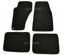 FIT FOR 1999-2004 JEEP GRAND CHEROKEE BLACK NYLON CARPET FLOOR MATS 4 PIECES NEW