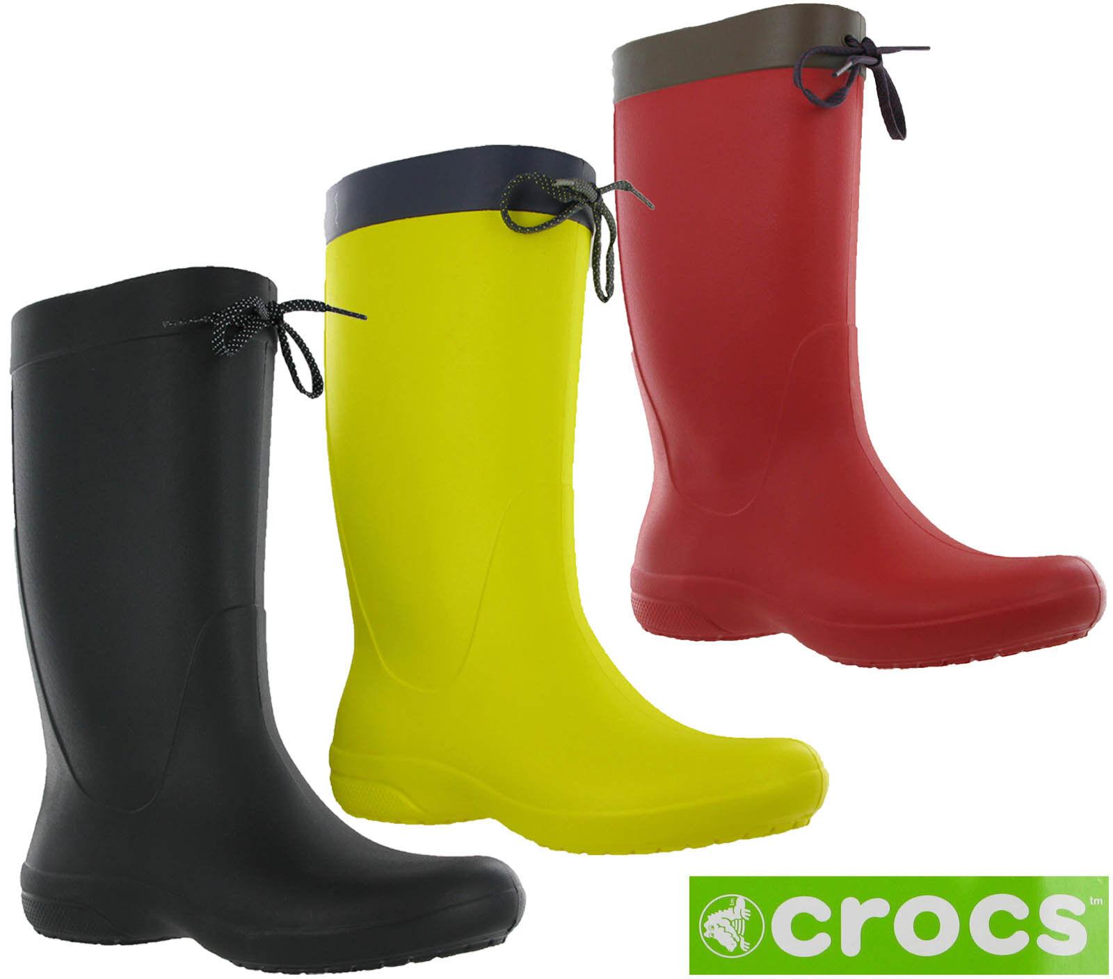Crocs Botas Lluvia Freesail Agua Cargador Mujer De 3RjLcAq45S