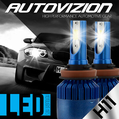 AUTOVIZION LED HID Headlight Conversion kit H11 6000K for 2006-2016 Honda Pilot