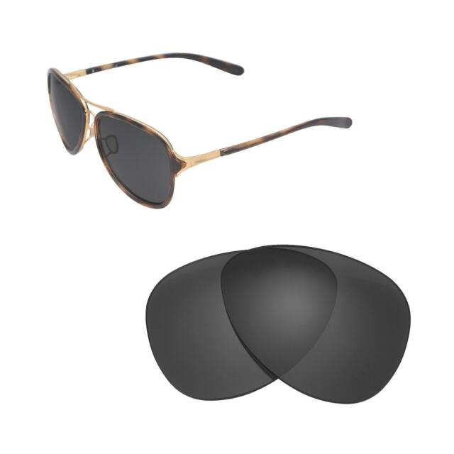 e504ebe494 Walleva Black Polarized Replacement Lenses for Oakley Kickback ...