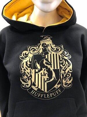 Harry Potter Hufflepuff House Kids Hoodie Personalised number