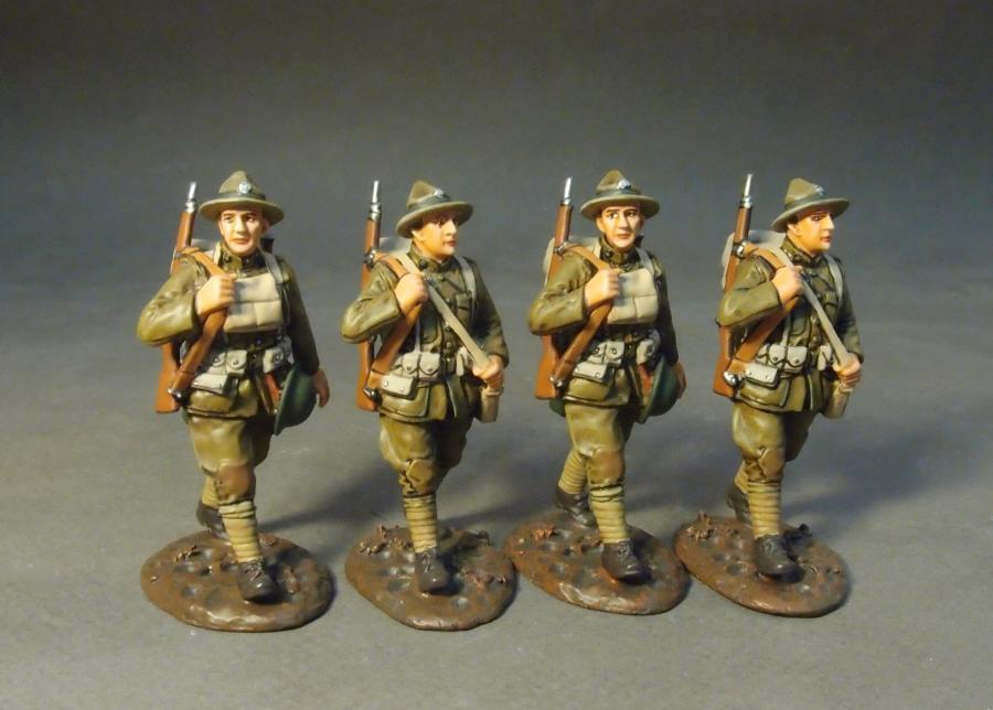 John Jenkins Designs WW1 le Grand War GWUS-11N U.S.Marines Marcheur Set  1MIB