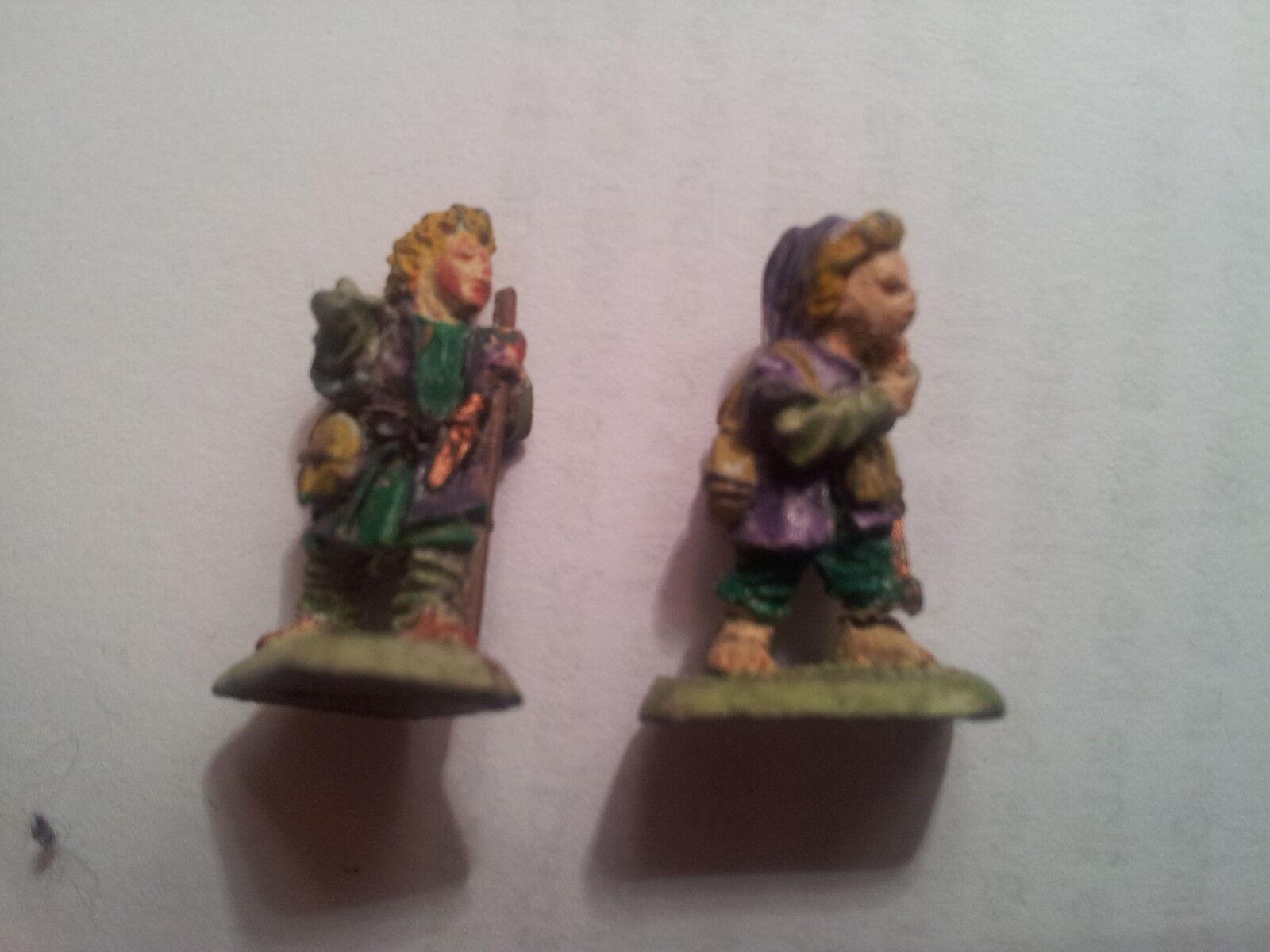Mithril Miniatures M57 Hobbit Travellers 1988 OOP