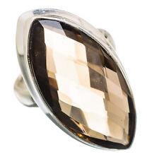 Smoky Quartz 925 Sterling Silver Ring Size 4 Ana Co Jewelry R838873F