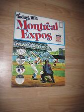 Dell Publishing 1971 Montreal Expos Baseball Player Sticker Album/Free Shipping