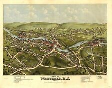 IOWA VINTAGE PANORAMIC MAPS COLLECTION ON CD