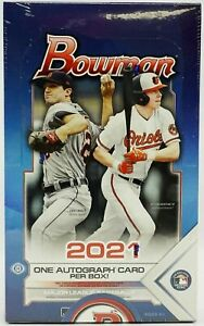 2021 Bowman Baseball Hobby Box 1 Box Random Player Break #1